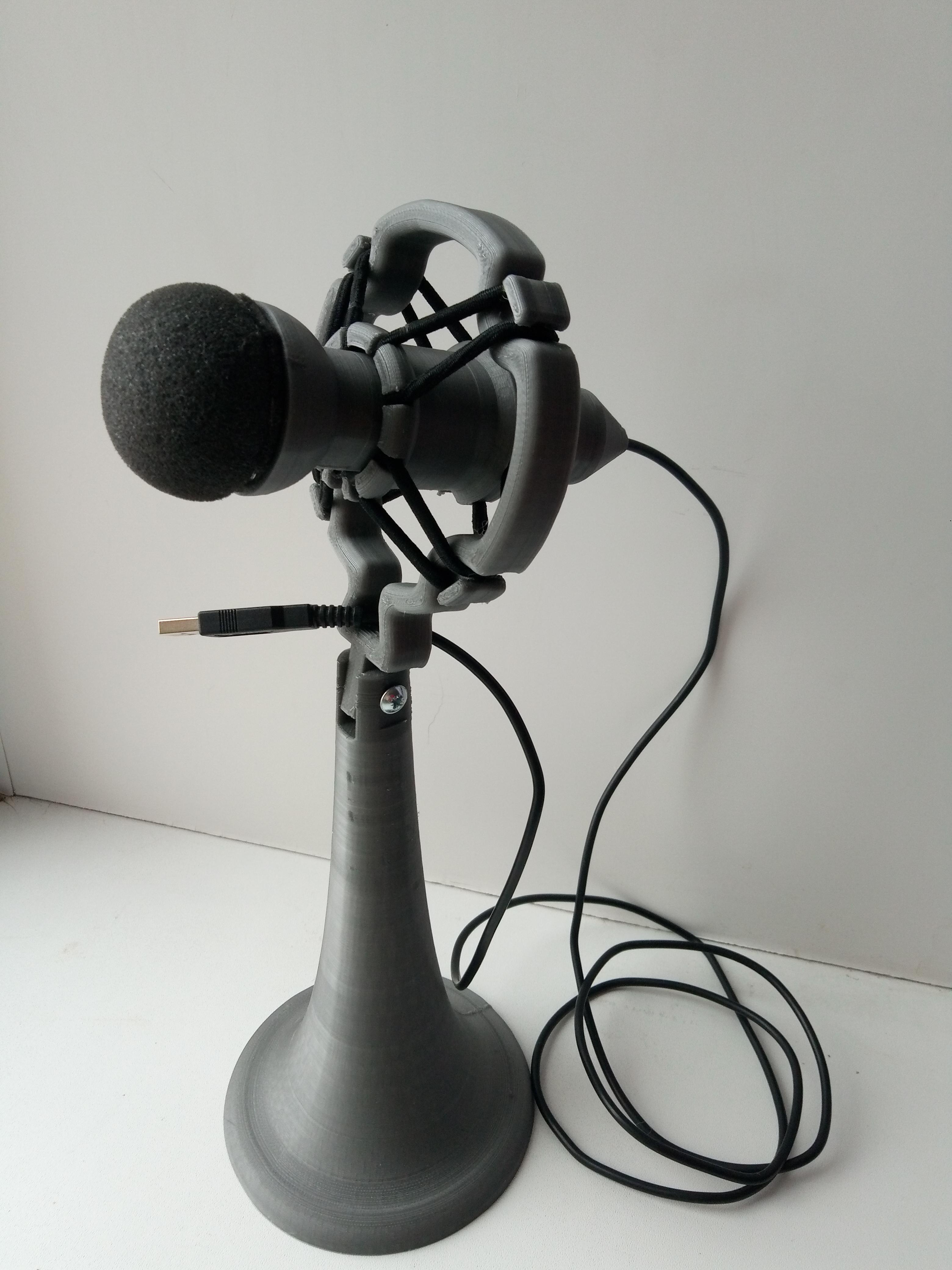 Самодельный USB микрофон