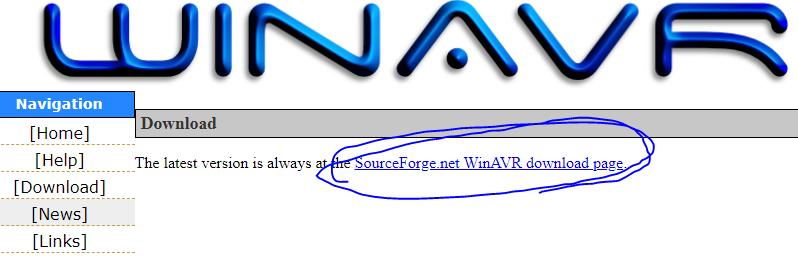 WINAVR download