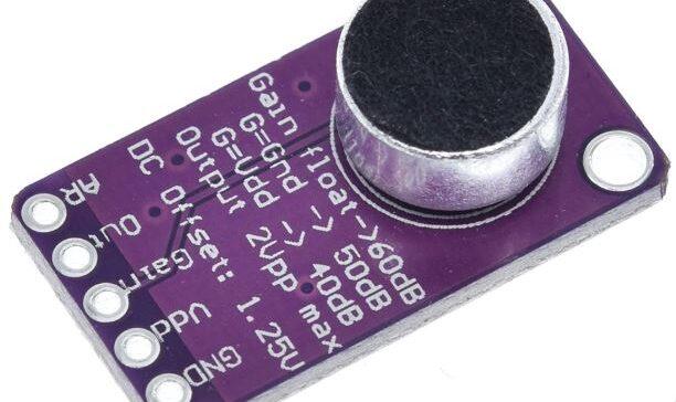 Микрофонный усилитель на MAX9814