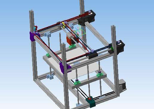 Каркас 3D принтера