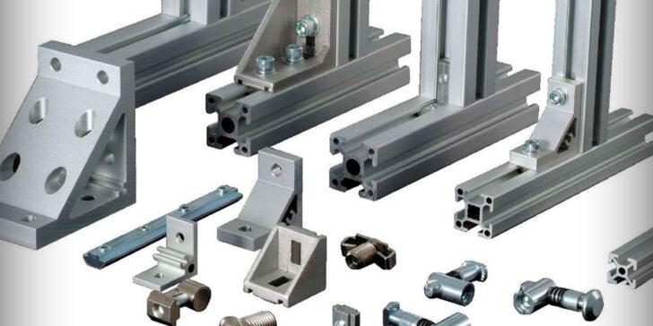 Алюминиевый профиль и соединяющие элементы